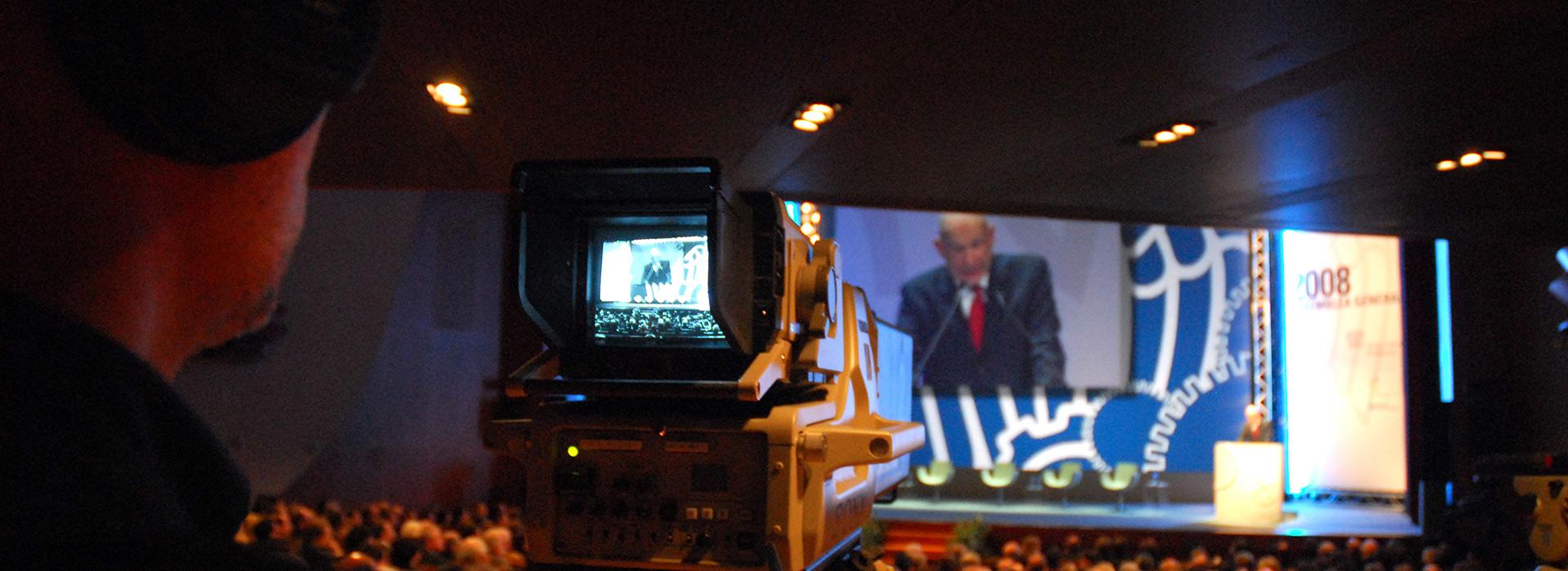 Organizzazione eventi e riprese video live