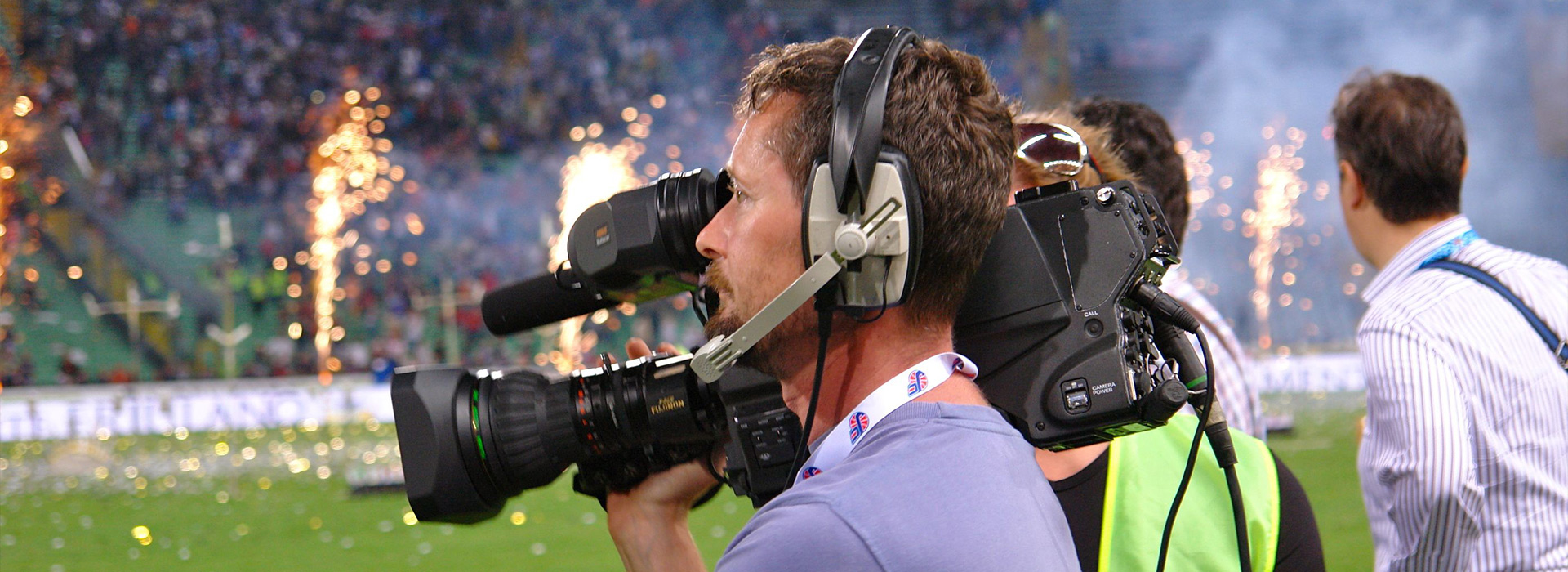 Riprese televisive in diretta di eventi sportivi