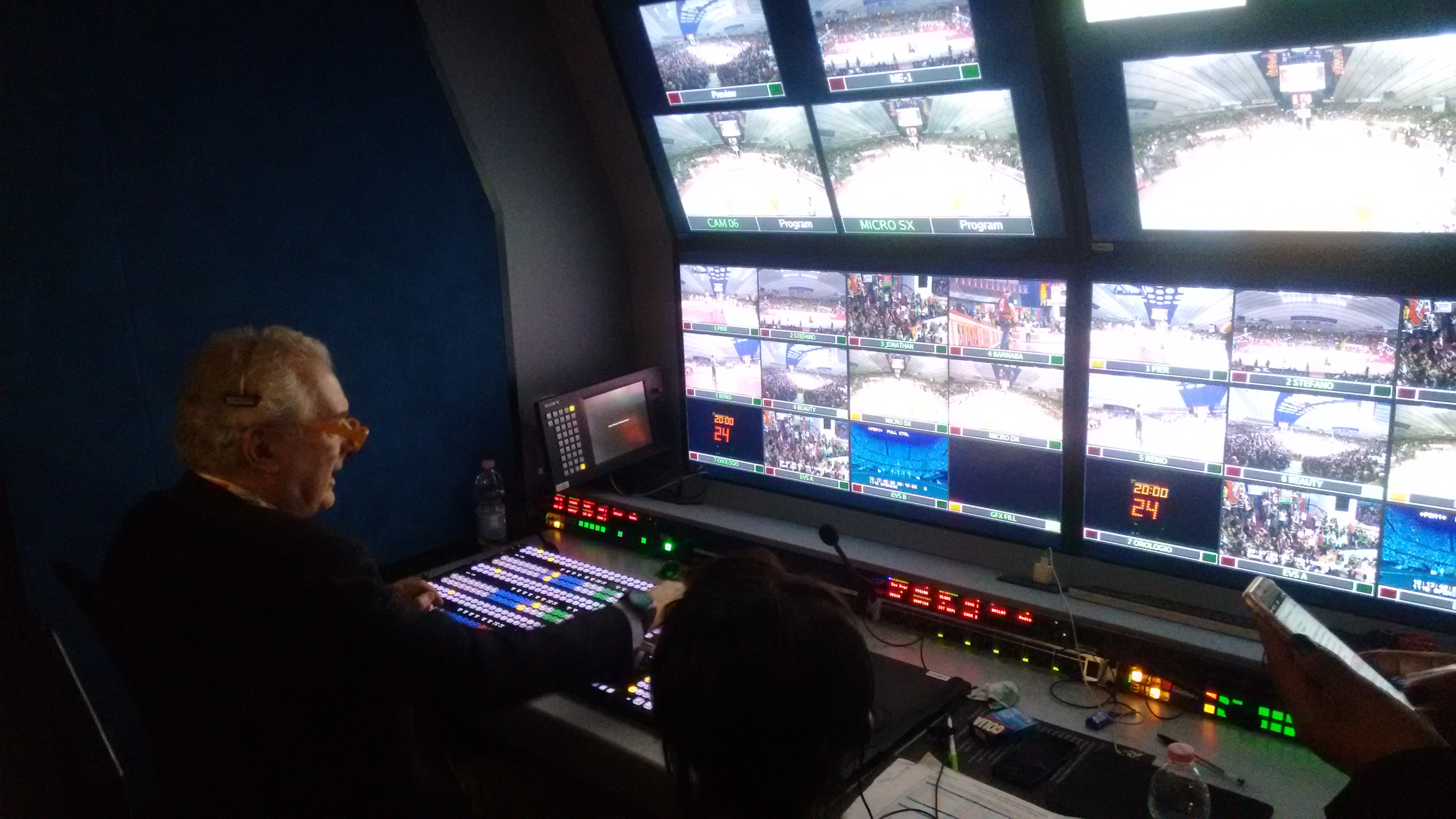 Basketball Champions League Videe OB Van
