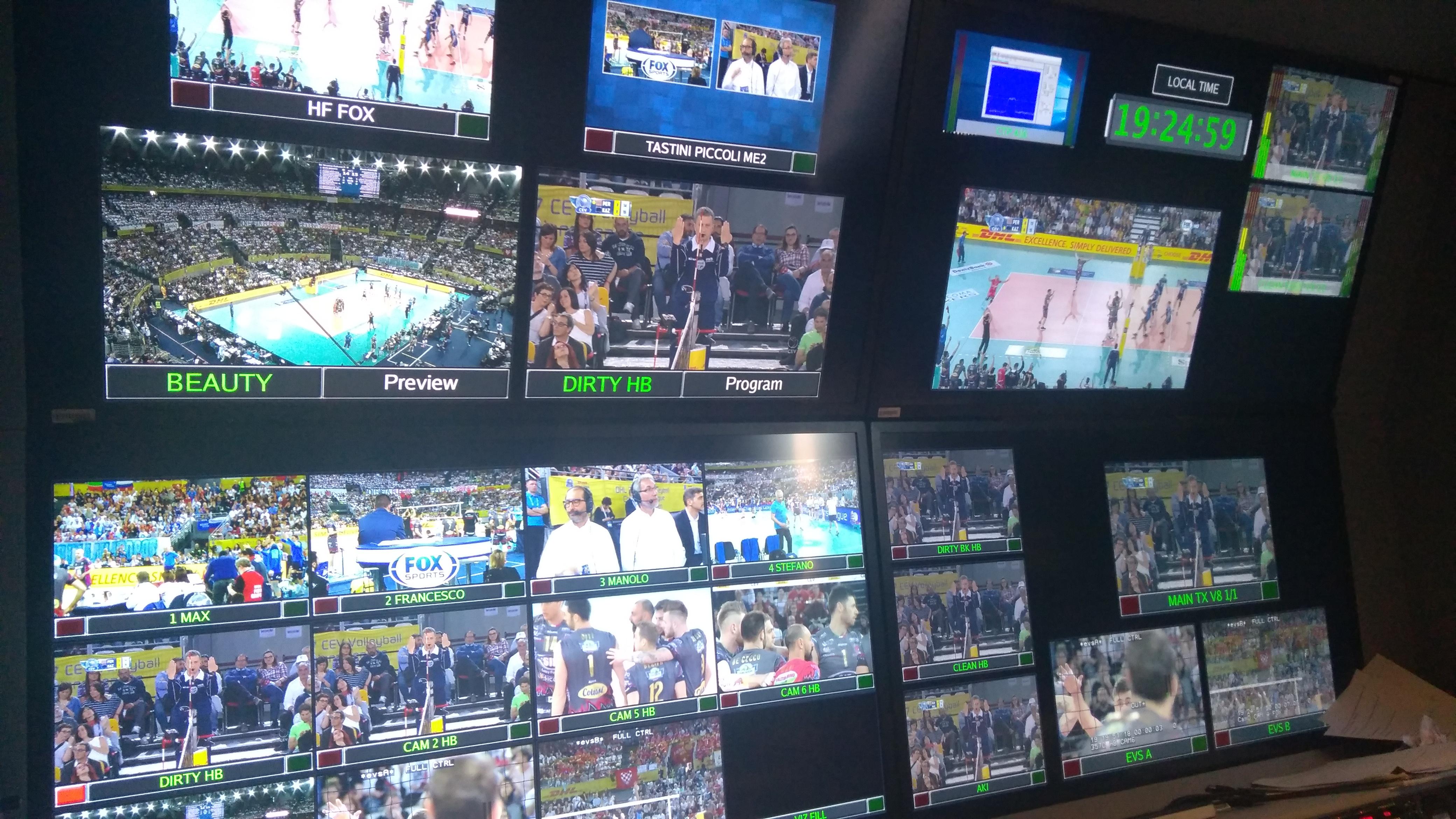 CEV volley FoxSport Videe
