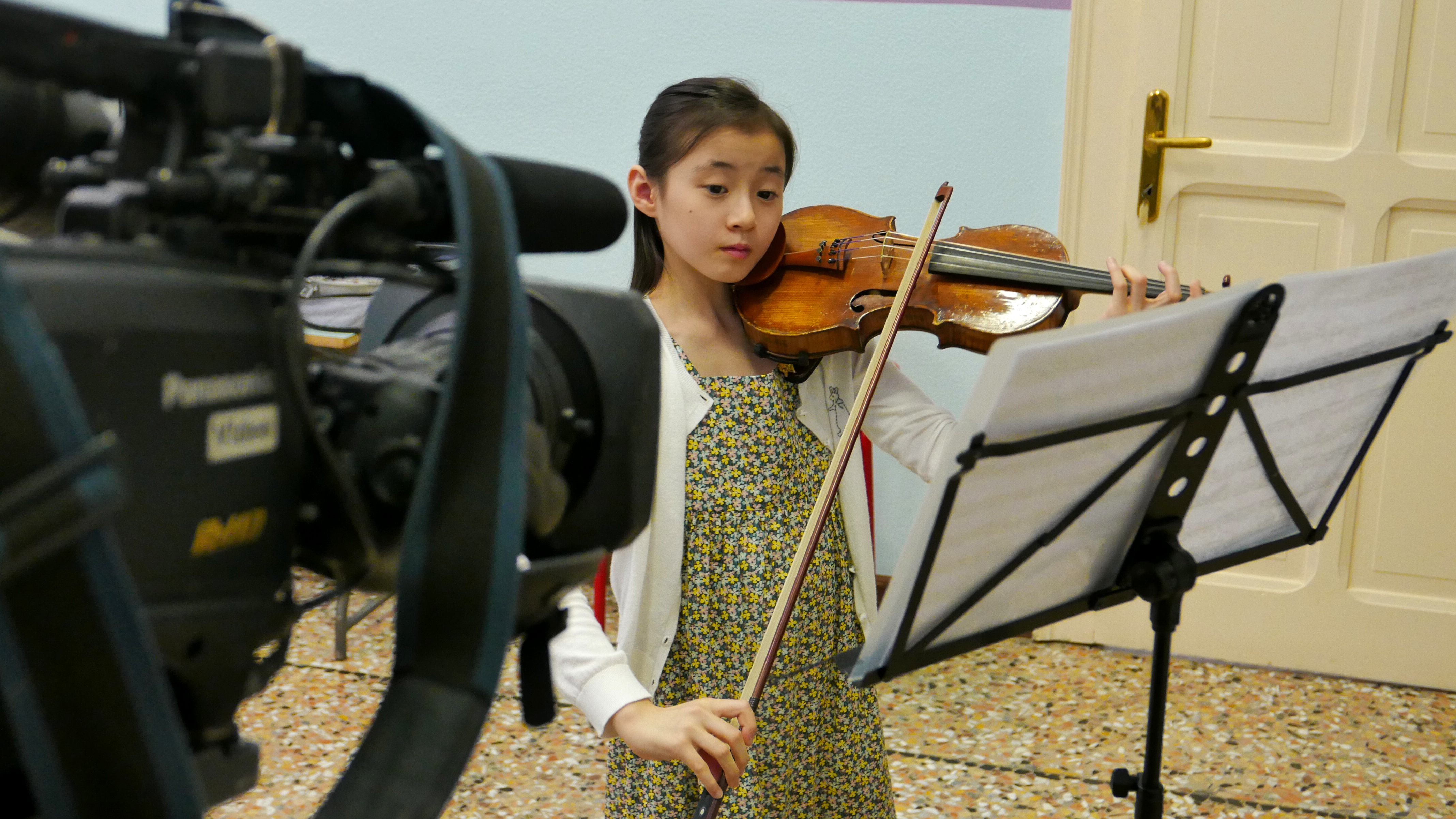 PVM17 documentary Videe Violin talent