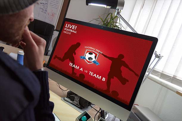 Grafica computerizzata live per eventi sportivi