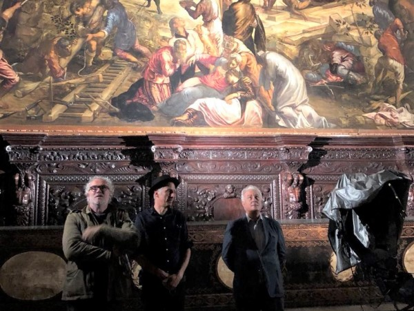 shooting of tintoretto's documentary
