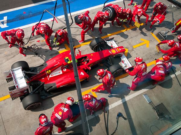 Gran premio Monza F1 MCR Movistar Broadcast