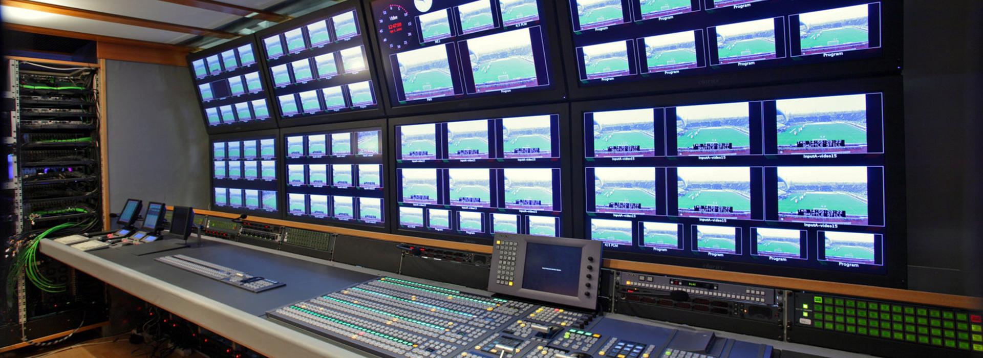 Regie mobili per riprese televisive esterne