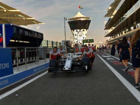 AbuDhabi motorsport f1