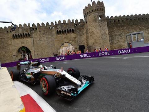 Supersport - GP Azerbaijan with Remote Production for Movistar - Servizi Broadcast