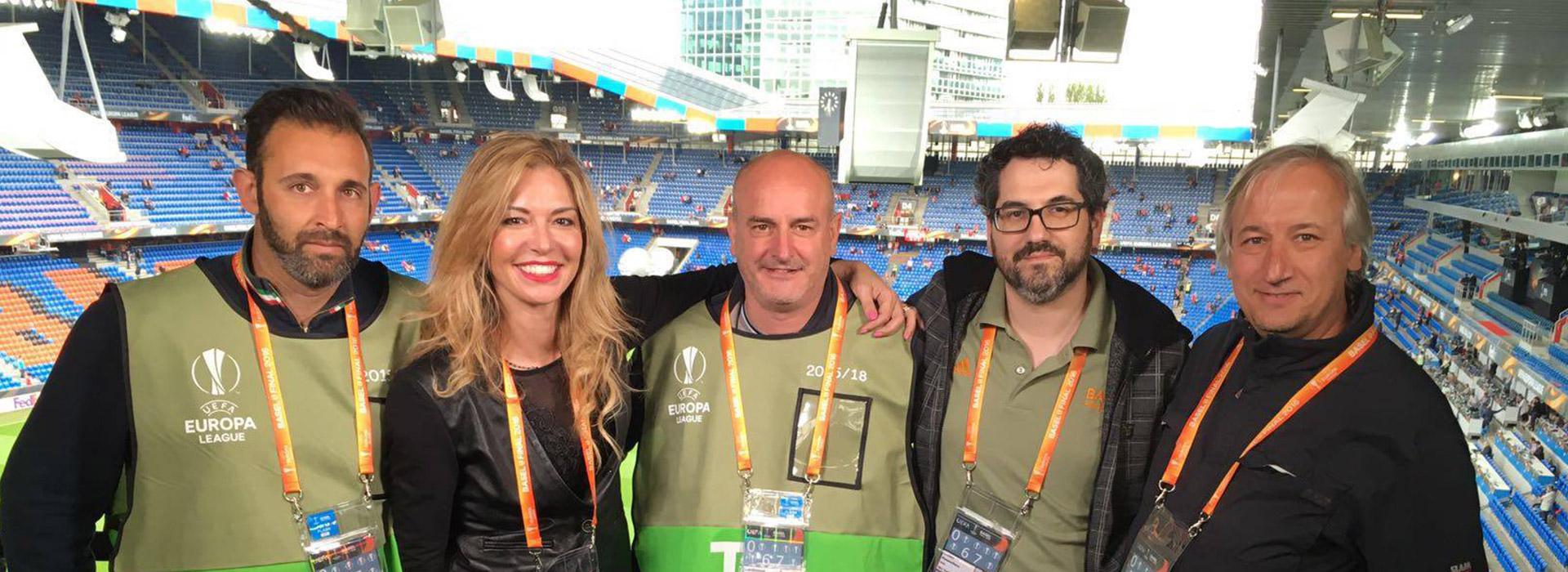 Il Team Videe all'Europa League