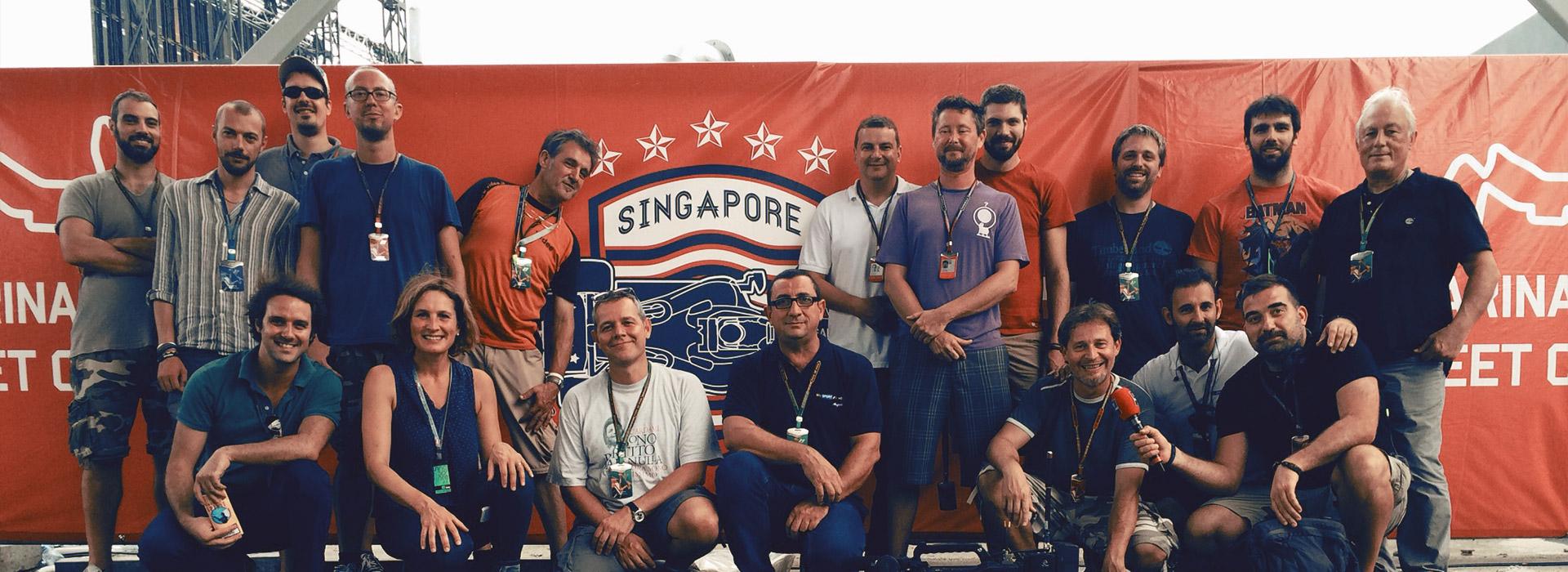 Il team di Videe a Singapore